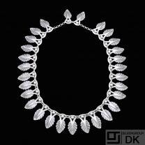 Jens Tage Hansen - Copenhagen. Sterling Silver Necklace - 1960s