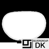 Georg Jensen. Sterling Silver Neckring #410 - Dew Drop - M/L