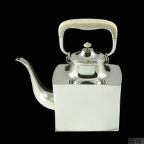Karl Gustav Hansen. Sterling Silver Tea Pot #454.