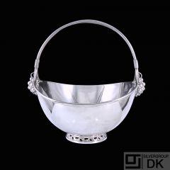 A.F. Rasmussen - Denmark. Sterling Silver Grape Bowl.