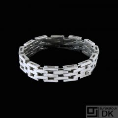 Boy Johansen.Modern DanishSilver Bracelet.