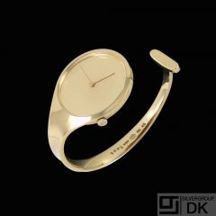 Georg Jensen. Ladies'  Watch #1226 - 18k Gold - Vivianna Torun
