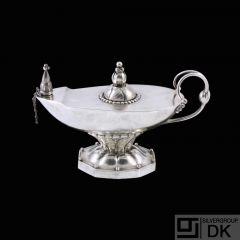 Georg Jensen. Sterling Silver Cigar Lighter /Aladdin's lamp#12- 1925-32.