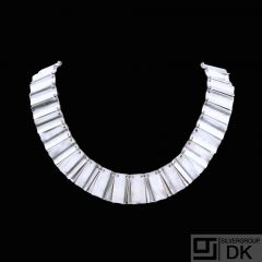 Georg Jensen. Sterling Silver Necklace #113 - Arno Malinowski