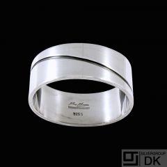 Hans Hansen - Denmark. Sterling Silver Napkin Ring.