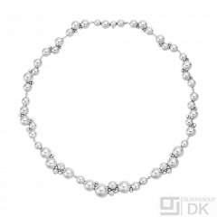 Georg Jensen. Sterling Silver Necklace #551I - Moonlight Grapes.